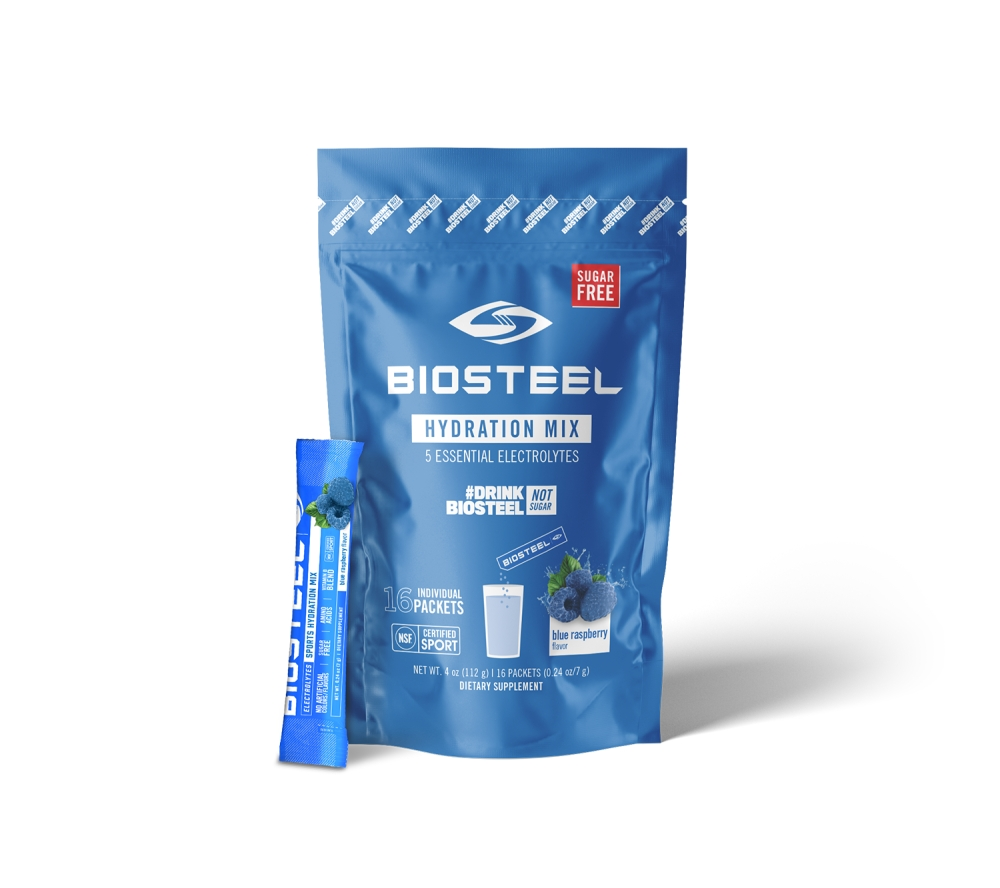 SPORTS HYDRATION MIX / BLUE RASPBERRY - 16 SERVINGS