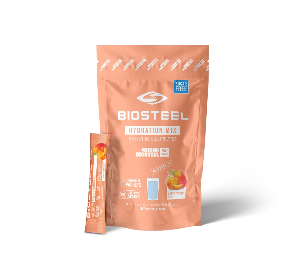 SPORTS HYDRATION MIX / PEACH MANGO - 16 SERVINGS
