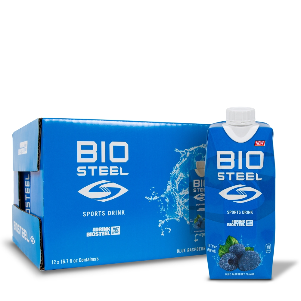 SPORTS HYDRATION DRINK / BLUE RASBERRY - 12 PACK