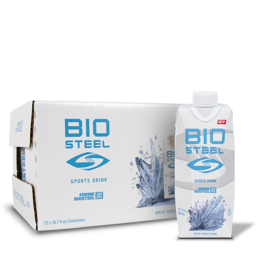 SPORTS HYDRATION DRINK / WHITE FREEZE - 12 PACK